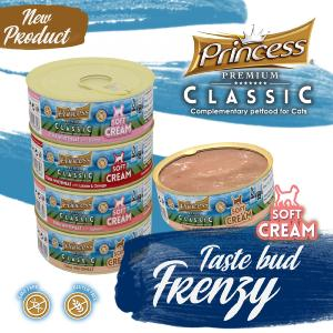PRINCESS SOFT CREAM Tuna Whitemeat & Salmon 50g
