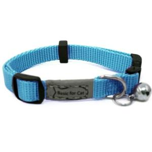 WOUAPY COLLIER CHAT BASIC LINE BLEU