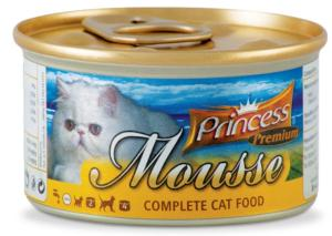 PRINCESS PREMIUM MOUSSE Heart & Chicken Liver 85g