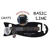 WOUAPY COLLIER CHAT BASIC LINE VERT