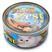 PRINCESS Premium ZEST Chicken, Tuna et Moules 170g NOIR
