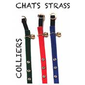 WOUAPY COLLIERS CHAT STRASS BLEU