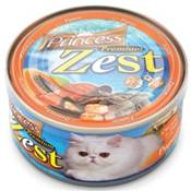 PRINCESS Premium ZEST Chicken & Tuna w Papaya 170g ORANGE