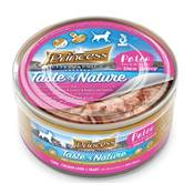 PRINCESS TASTE OF NATURE PALEO 170G ROSE (Thon, cœur & foie de poulet)