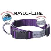 WOUAPY Col basic line 12 mm 20/30 cm VIOLET