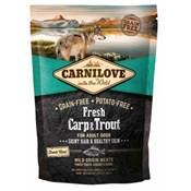 CARNILOVE FRESH - DOG - ADULT - CARP & TROUT - HEALTHY SKIN - 1.5KG