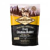 CARNILOVE FRESH - DOG - ADULT -CHICKEN & RABBIT - MUSCLES, BONES 1.5KG