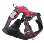 RED DINGO Padded harnais Red M 20mm, cou 38-58cm, corps 46-63cm